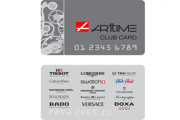 Arttime Club Card